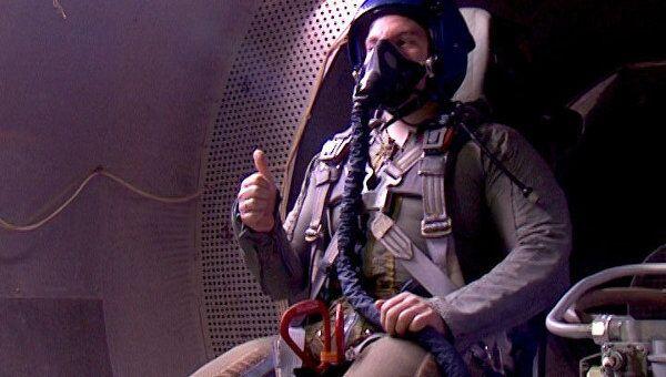 Костюм для пилотов ПАК ФА Т-50. Кадры испытаний