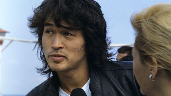 Лидер рок-группы Кино Виктор Цой