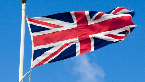 Флаг Великобритании. Архив