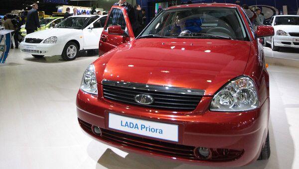 Автомобиль LADA Priora. Архив