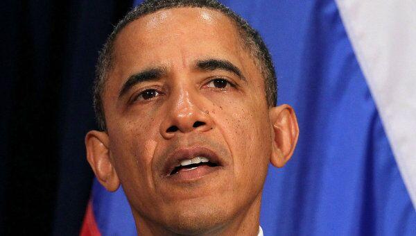 Президент США Барак Обама. Архив