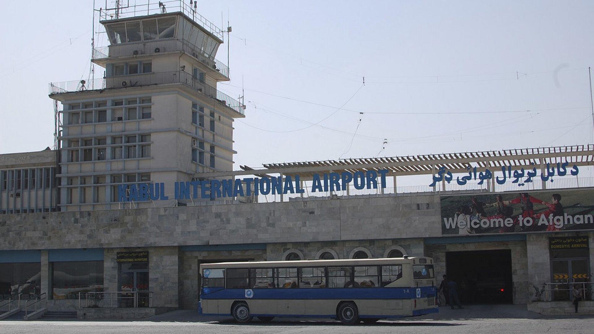 Международный аэропорт Кабула Хаджи Раваш - РИА Новости, 1920, 02.08.2021