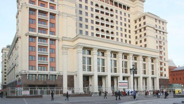 Здание гостиницы Москва. Архив