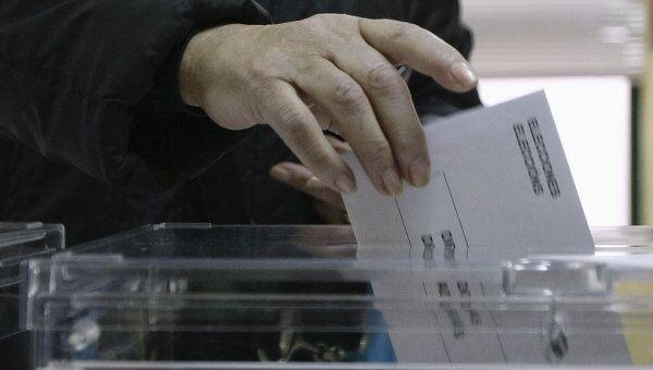 Голосование на парламентских выборах в Испании