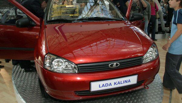 Автомобиль Лада Калина. Архив