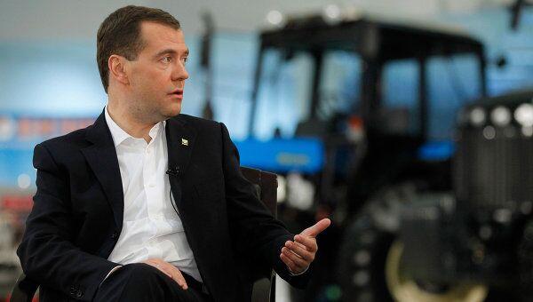 Рабочая поездка Д.Медведева в Ростов-на-Дону