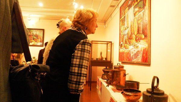 Выставка памяти Сурова в Вологде
