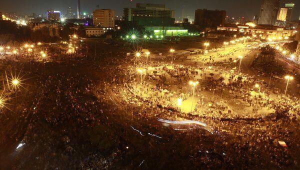 Ситуация на площади Тахрир в Каире 21 ноября 2011 года