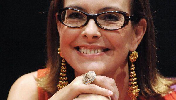 Французская актриса Кароль Буке