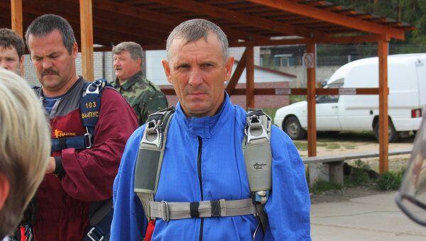 Инвалид-парашютист Александр Соклаков