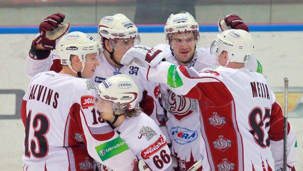 Хоккеисты Динамо (Рига), архивное фото