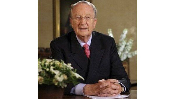 Бельгийский король Альберт II