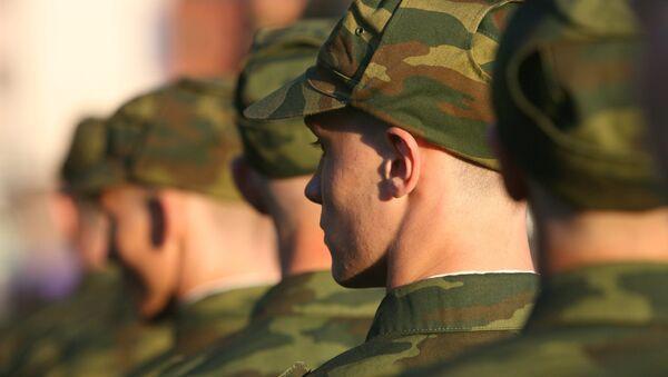 Служба в российской армии. Архивное фото