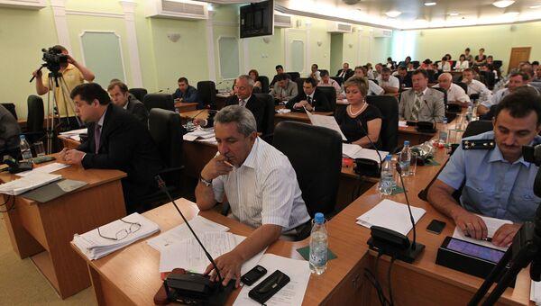Собрание депутатов думы города Томска, архивное фото