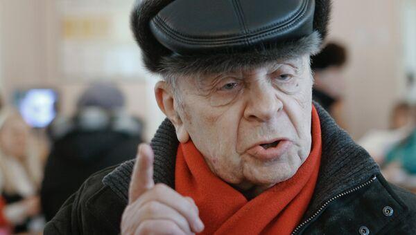 Актер Леонид Броневой. Архивное фото