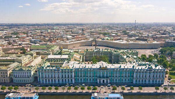 Вид Петербурга с верхней точки