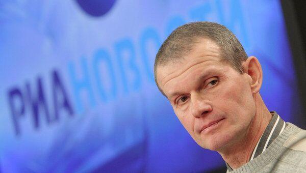 Пресс-конференция летчика Владимира Садовничего