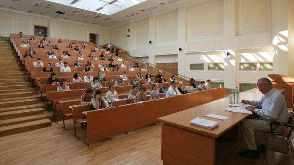 В аудитории вуза. Архивное фото