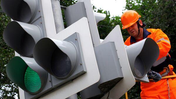 Ремонт городских светофоров