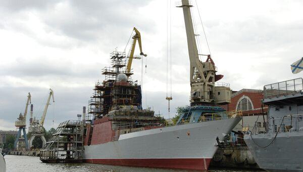 Судостроительный завод Северная верфь в Санкт-Петербурге