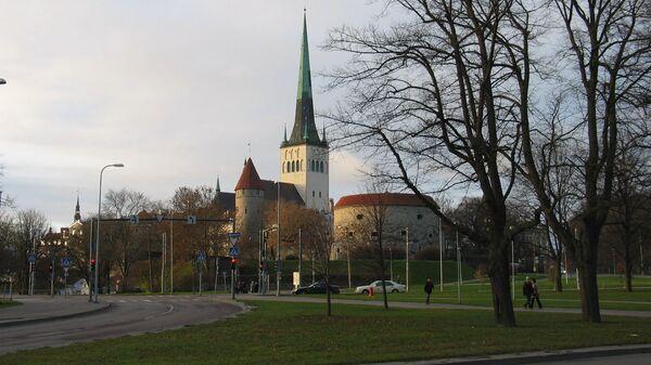 Таллин, столица Эстонии