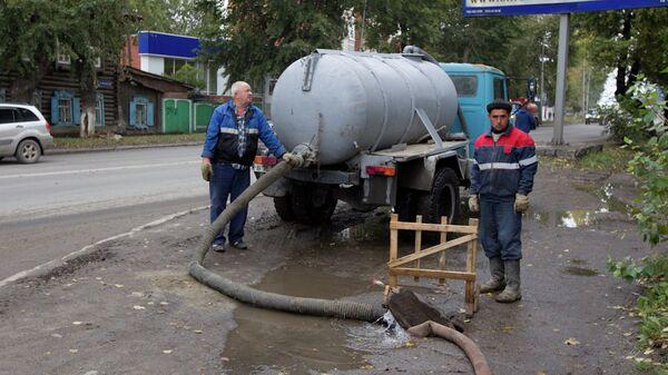 Авария на улице Яковлева