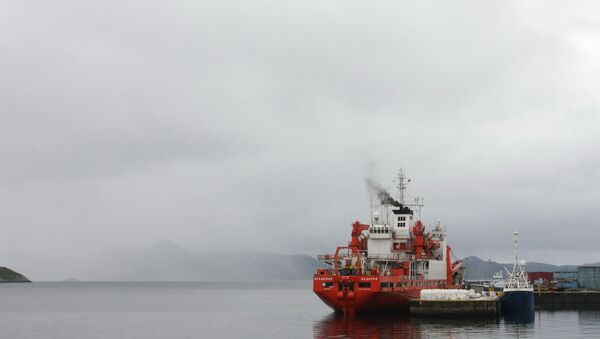 Экспедиция по исследованию арктического шельфа. Архивное фото