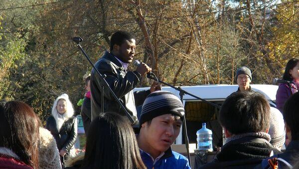 Студенты ТПУ читали рэп, чтобы собрать деньги детдомовцам. ВИДЕО