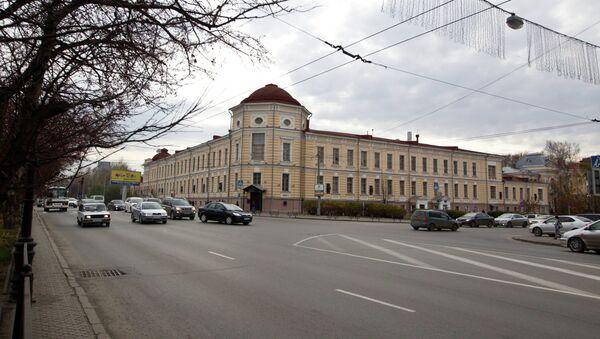 Здание акушерской клиники СибГМУ, фото из архива