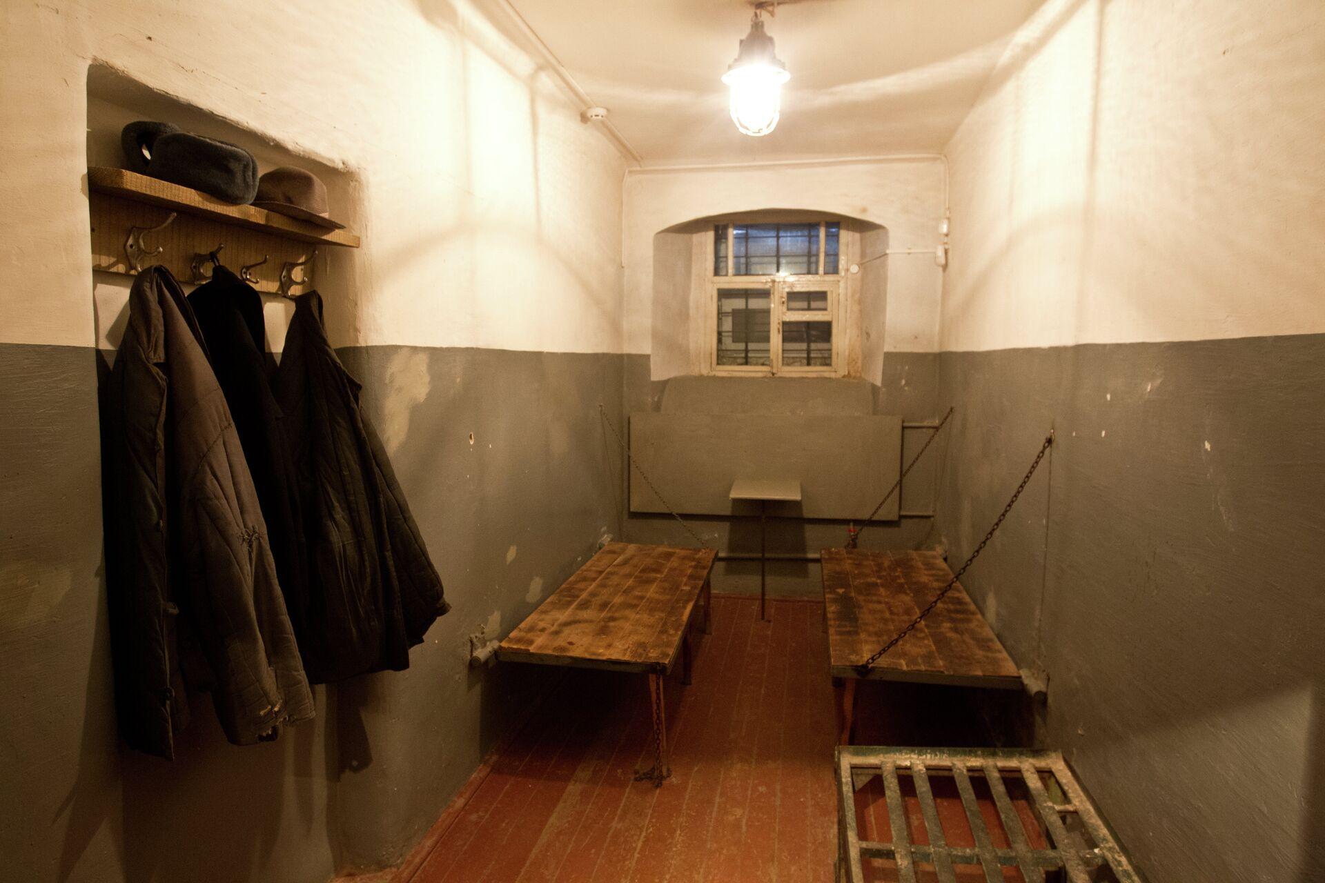 Камера в томском музее Следственная тюрьма НКВД - РИА Новости, 1920, 28.01.2021