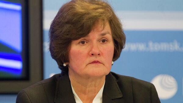 Начальник областного департамента соцзащиты Ирина Трифонова, архивное фото
