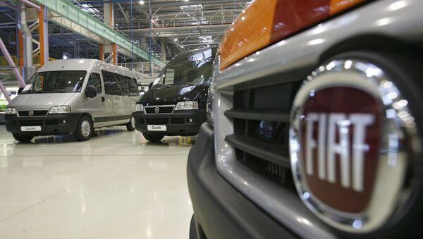 Логотип Fiat. Архивное фото