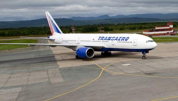 Boeing 777-200 авиакомпании Трансаэро. Архивное фото