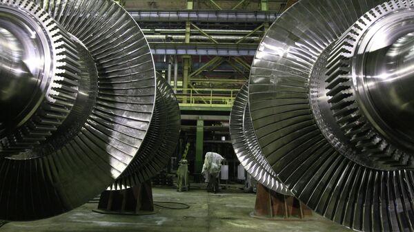 Производство турбин на Ленинградском металлическом заводе