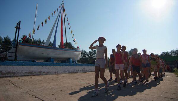 Детский отдых в оздоровительном лагере Парус