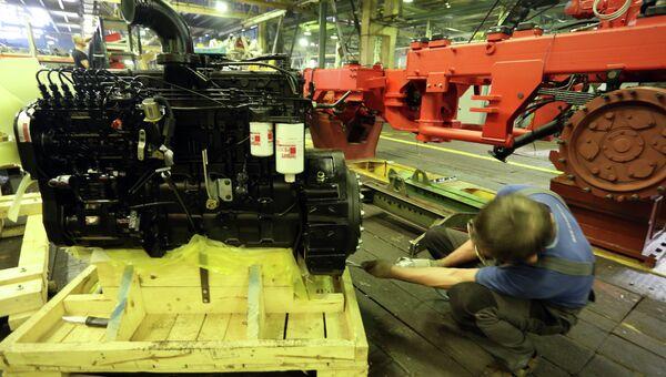 Тракторы нового поколения - Кировец К-9000 производства Петербургского тракторного завода