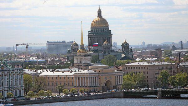 Виды Санкт-Петербурга. Архивное фото