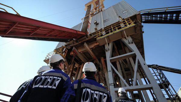 Добыча газа в Оренбургской области