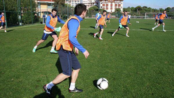 ФК Томь проводит тренировочные сборы в Турции, январь 3013 г