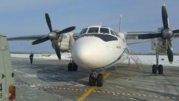 Ан-24, архивное фото