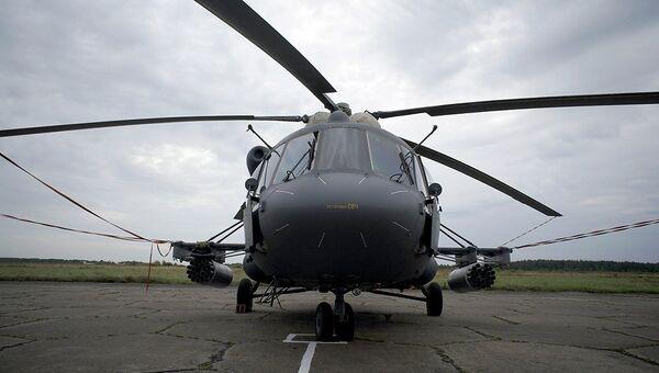 Вертолет Ми-24, архивное фото