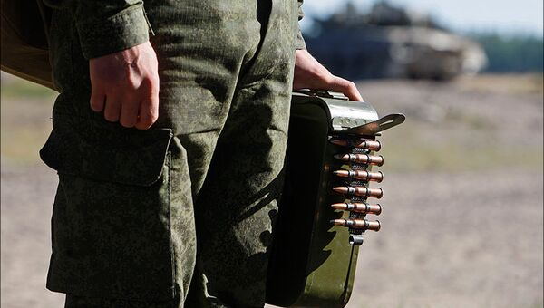 Учения танкистов в Ленобласти. Архивное фото