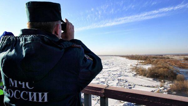 Подтопление Эушты в Томской области