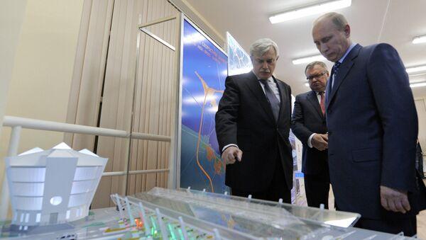 Рабочая поездка Владимир Путина в Северо-Западный федеральный округ