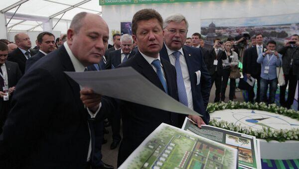 Алексей Миллер и Сергей Жвачкин на Innovus-2013 в Томске