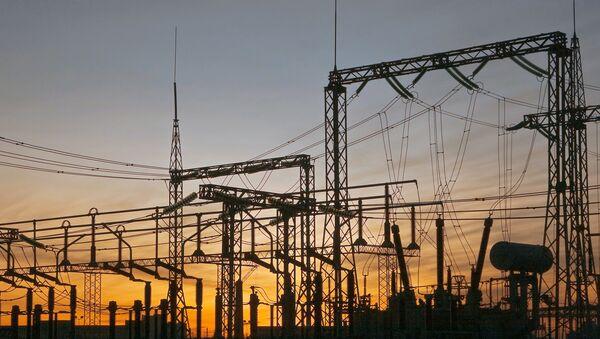 Подстанция Ржевская с кабельно-воздушными линиями электропередачи
