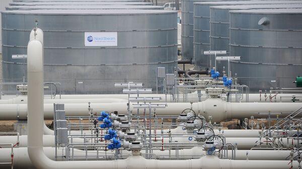 Участок газопровода Северный поток, архивное фото