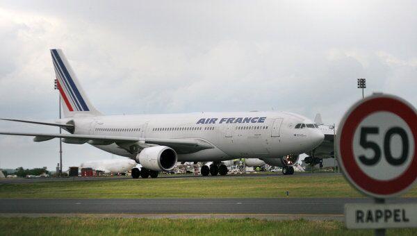 Пассажирский лайнер A330-200 французской авиакомпании Air France. Архивное фото