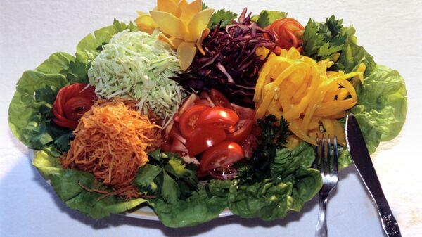 Овощная заготовка для салатов и гарниров