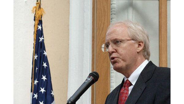 Посол США в России Джон Байерли. Архив